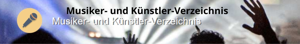 Musiker- und Künstler-Verzeichnis