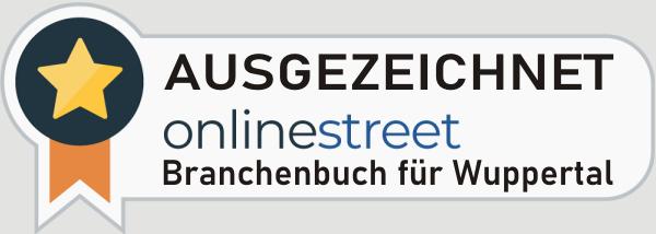 Onlinestreet-Branchenbuch Auszeichnung
